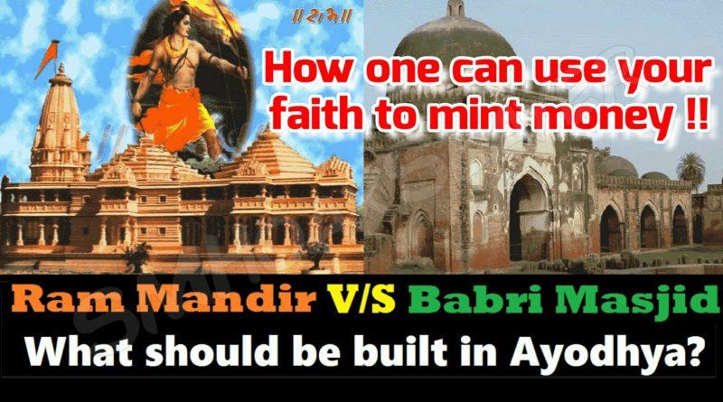 Why let one encash your faith ?