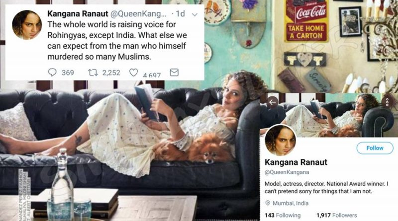 Did Kangana Ranaut leave India and is a Pakistani Citizen now ?