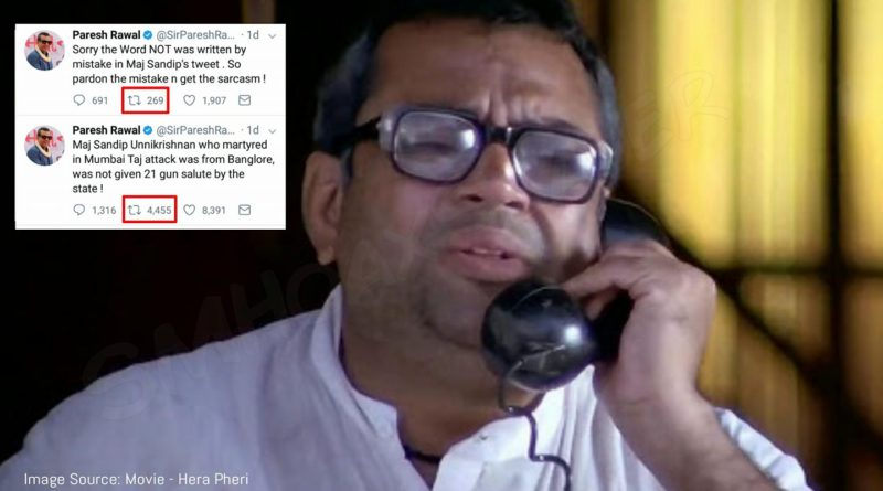 Sir Paresh Rawal back at it again, and how it works.