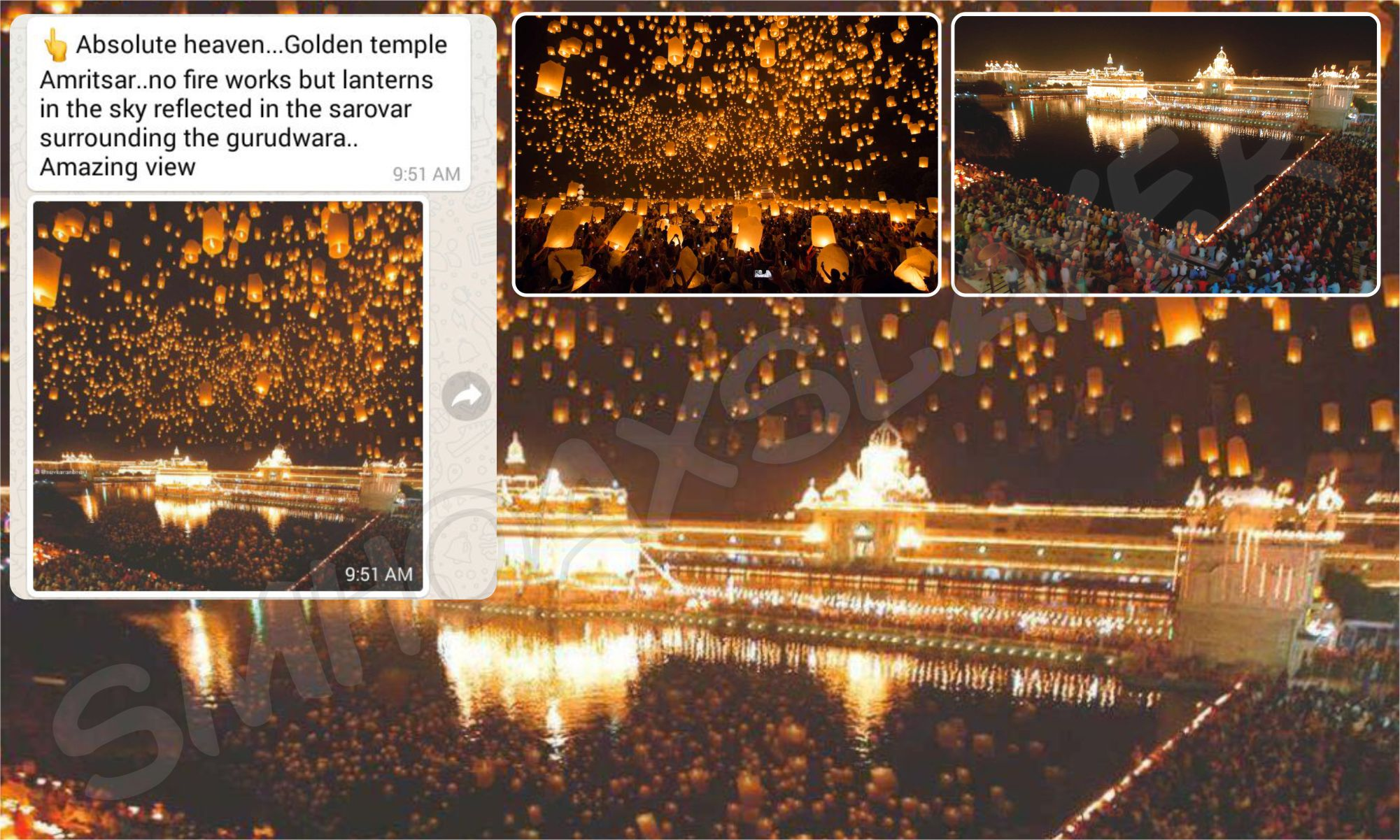 this absolute heaven at golden temple is achievedphotoshop